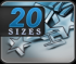 20 Sizes