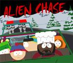 Southpark Alien chase