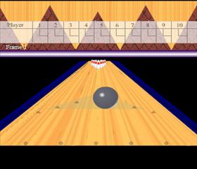 Wacky Ten Pin bowling